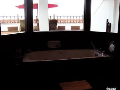 Jacuzzi in Suite at Bintan Lagoon resort
