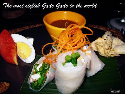 Stylish Gado Gado at Bintan Resort Lagoon