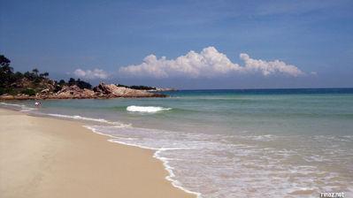 Beautiful Bintan Lagoon Beach
