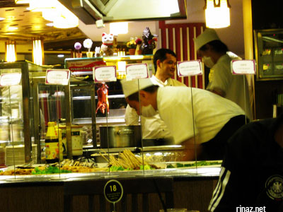 Sakura International Buffet at Clementi Woods, Singapore
