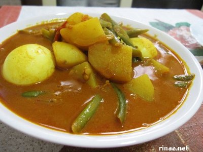 Rinaz made Vegetable Curry
