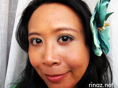 Rinaz and her mekap