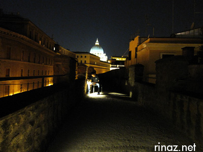Rinaz at Castel Sant Angelo