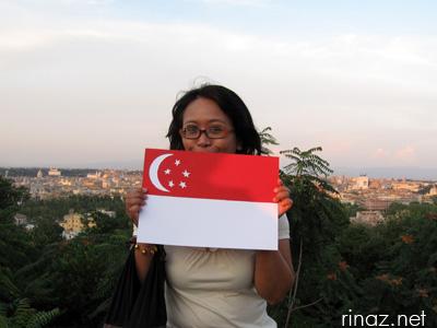 Rinaz wishes happy Singapore National Day!