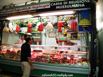 Halal Butcher in Rome