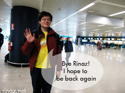 Jerrick says bye