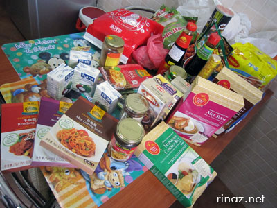 Singapore foodstuff