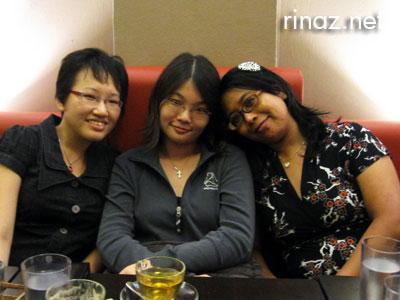 Nicole, Xinyun and Rinaz