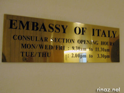 Italian Embassy in Singapore