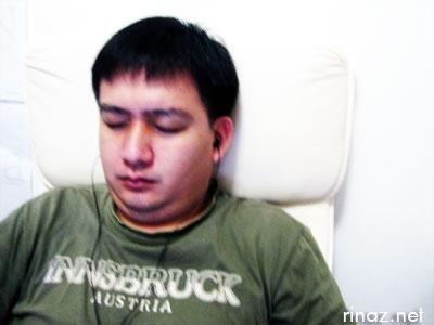 DK sleeping