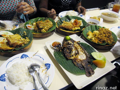 Indonesian Food at Lucky Plaza