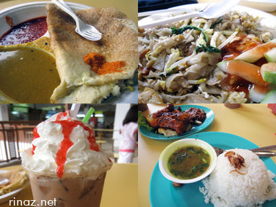 Food at geylang serai
