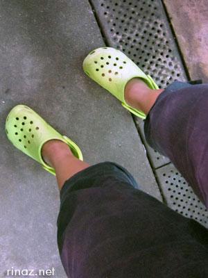 Rinaz crocs