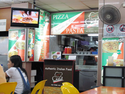 Italian food in Jurong East