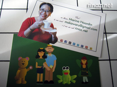 Rinaz new namecards
