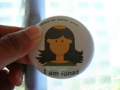 Rinaz Badge