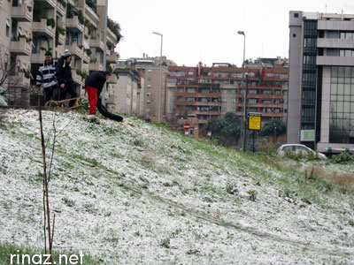 Snow in Rome / Neve a Roma