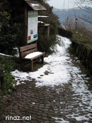 Snow in Nemi