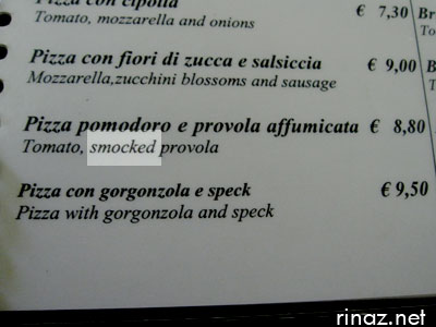 Engrish in Rome