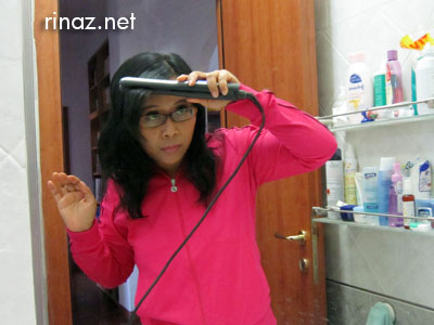 Rinaz remington sleek & curl