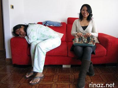 Sleepy rinaz and perky rinaz