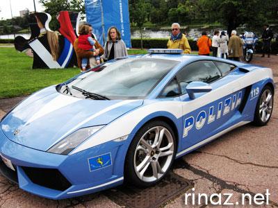 Lamborghini Polizia - rinaz.net