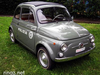 Fiat 500 Polizia - rinaz.net