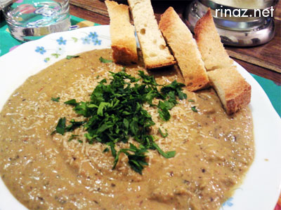 Roasted Eggplant Soup