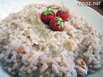 Strawberry Risotto Alle Fragole