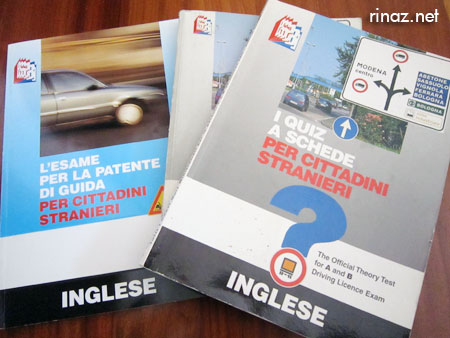 Learning Italian road theory rinaz.net