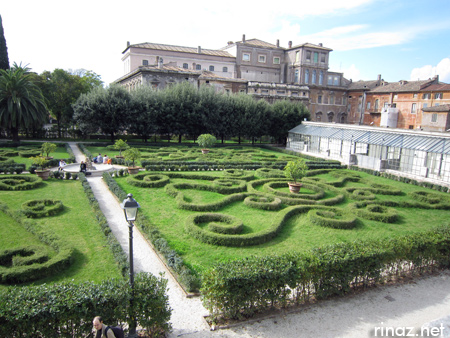 Barberini Gardens Garden Ftempo