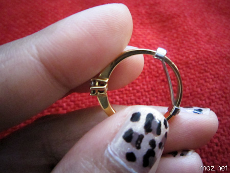 What do you do when your ring is loose Marinas Bloggariffic
