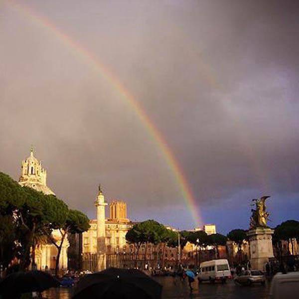 rinaz.net rainbow in Rome