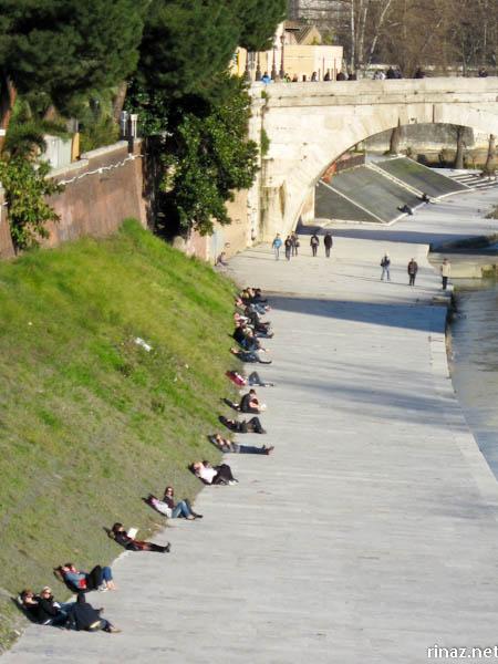rinaz.net Maratona di Roma Route 2014 #rinazdoes42km