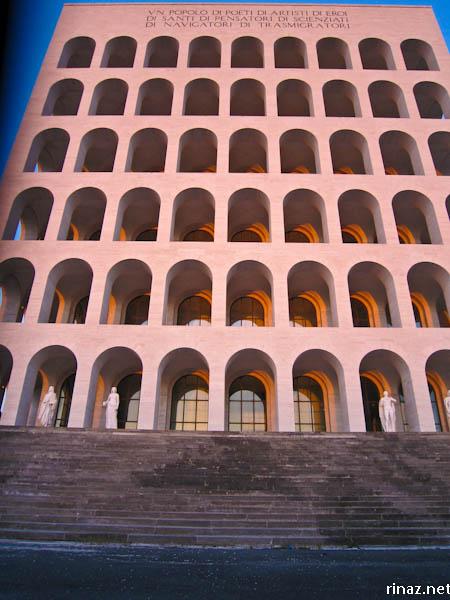rinaz.net Colosseo Quadrato, Rome Italy