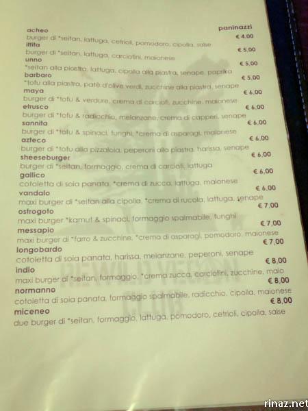 rinaz.net Rewild Vegan Club Rome Italy