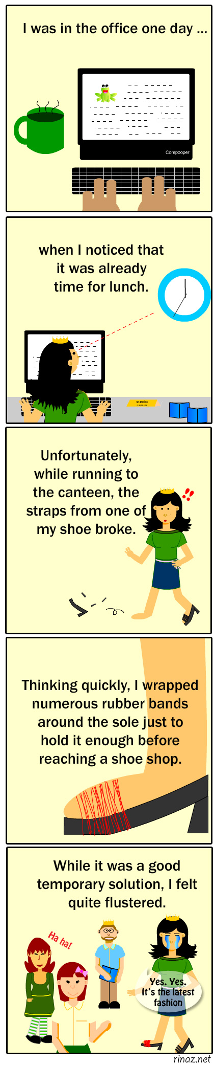 Rinaz.net A true story about shoes