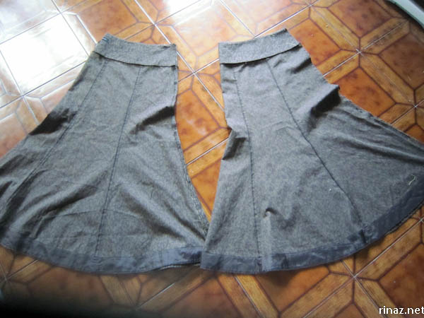 rinaz.net Sews a pair of culottes