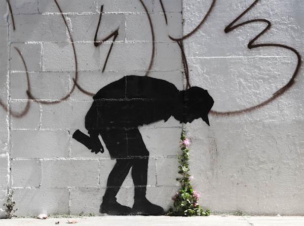 rinaz.net Banksy in Rome