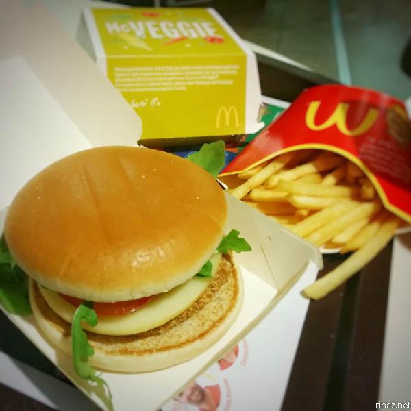 rinaz.net McDonalds McVeggie Italy