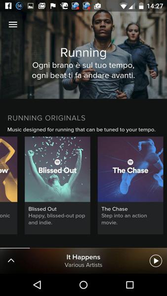 rinaz.net Spotify Running