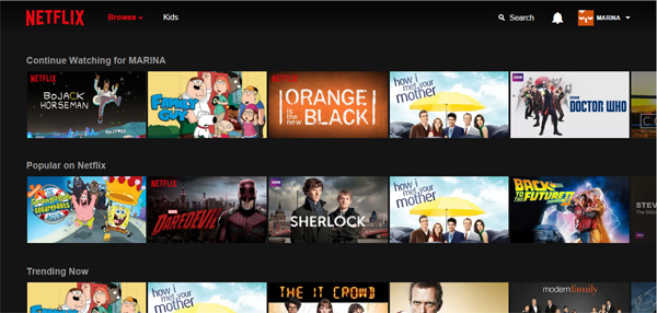 rinaz.net Netflix arrives in Italy