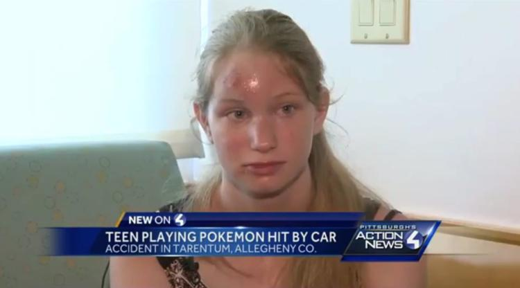 Pokemon Go Crash Accident