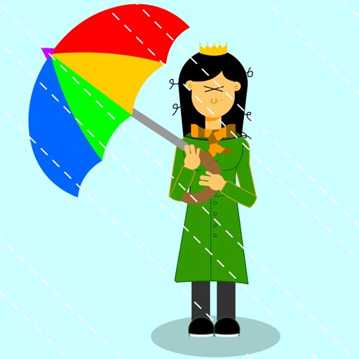 rinaz.net Toons Raining