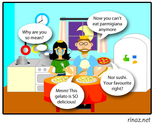 rinaz.net Toon! Vegan Diet