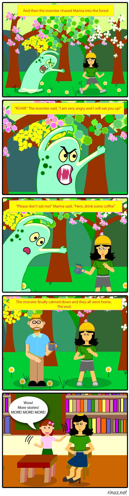 rinaz.net Toons Monster