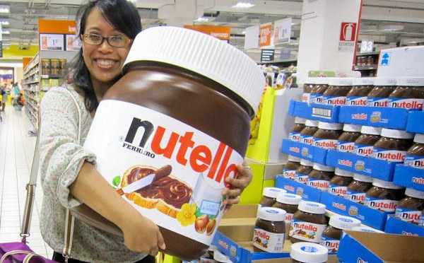 What to do with a 100 litre Nutella Jar?